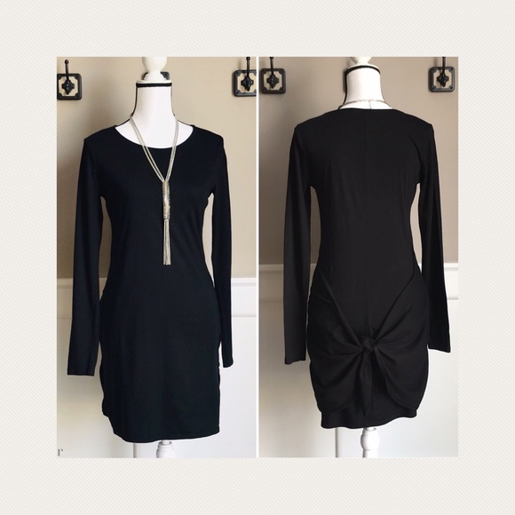 Michael Stars Dresses & Skirts - 🧵Michael Stars | Black Dress with Tie Knot